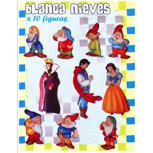 """COLECCIÓN KANGURITOS """"BLANCA NIEVES"""" X 10"""