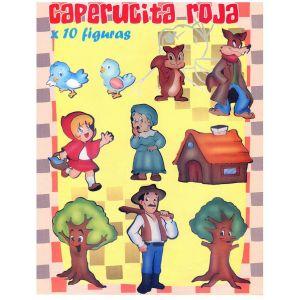 """COLECCIÓN KANGURITOS """"CAPERUCITA ROJA"""" X 10"""
