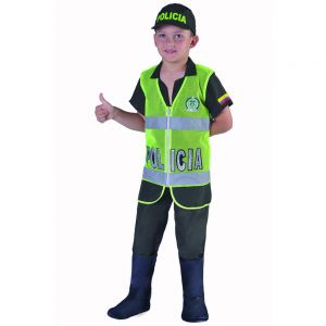 DISFRAZ  PROFESIONES ( POLICÍA)