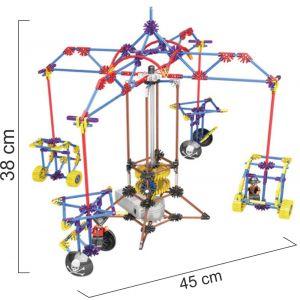 ROBOTS DE FICHAS DE CONSTRUCCIÓN  CARRUSEL